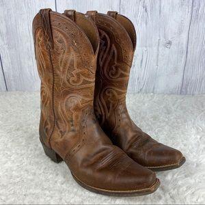 Ariat Carmel Heritage Western X Toe Leather 5.5